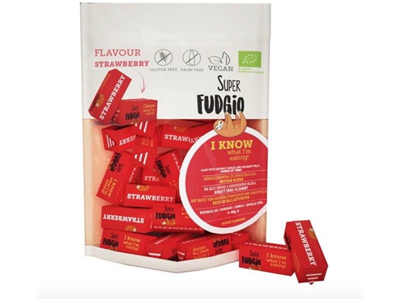 Zobrazit detail výrobku Super Fudgio Bio Veganské karamely - jahoda 150g