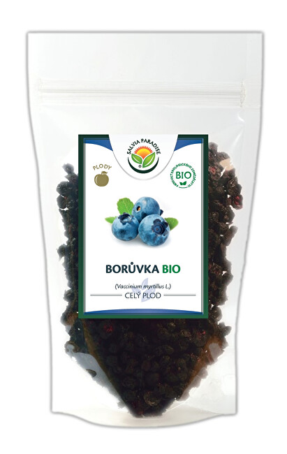Zobrazit detail výrobku Salvia Paradise Borůvka plod BIO 500 g