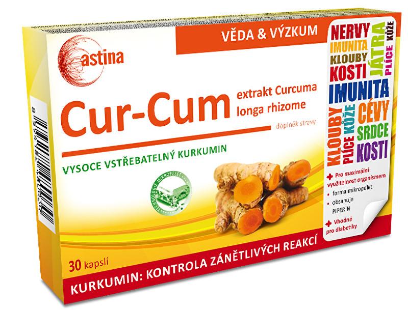 Zobrazit detail výrobku Astina Cur-Cum 30 kapslí