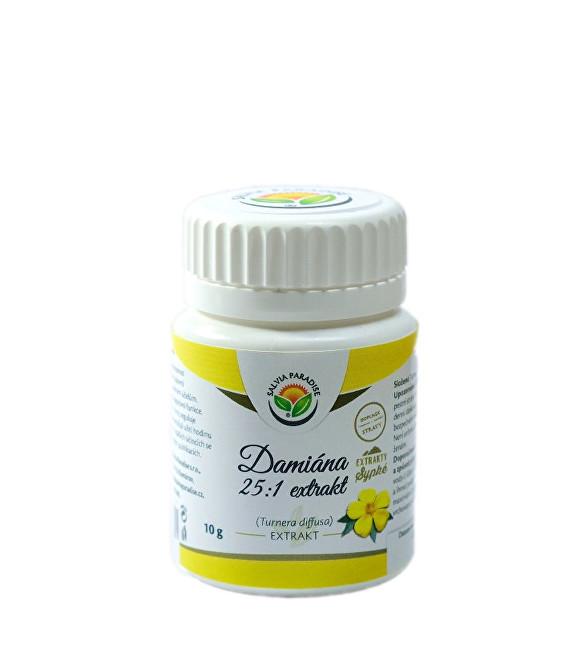 Zobrazit detail výrobku Salvia Paradise Damiána - Turnera diffusa 25:1 extrakt 10 g