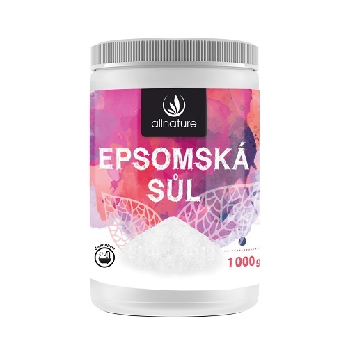 Zobrazit detail výrobku Allnature Epsomská sůl 1000 g