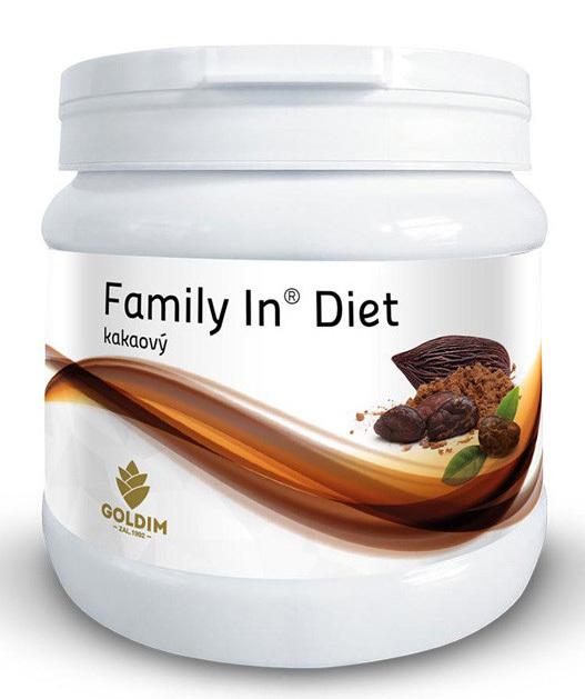 Zobrazit detail výrobku Goldim Family In Diet kakaový 12 porcí