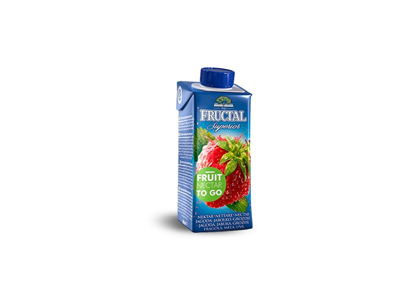 Fructal Fructal superior jahoda 200ml
