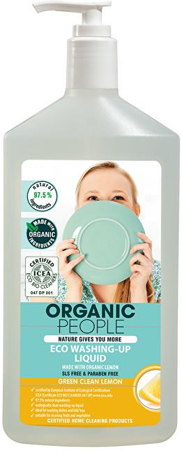 Organic People Gel na mytí nádobí citron 500 ml