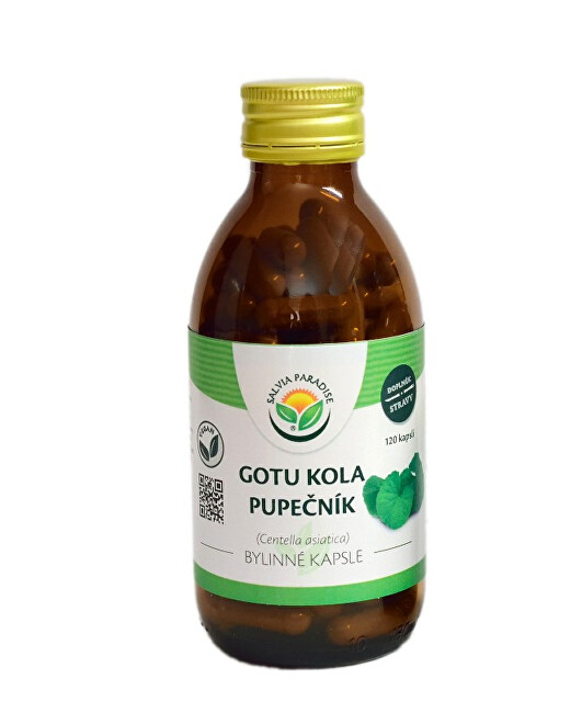 Salvia Paradise Gotu kola - Pupočník kapsule 120 ks