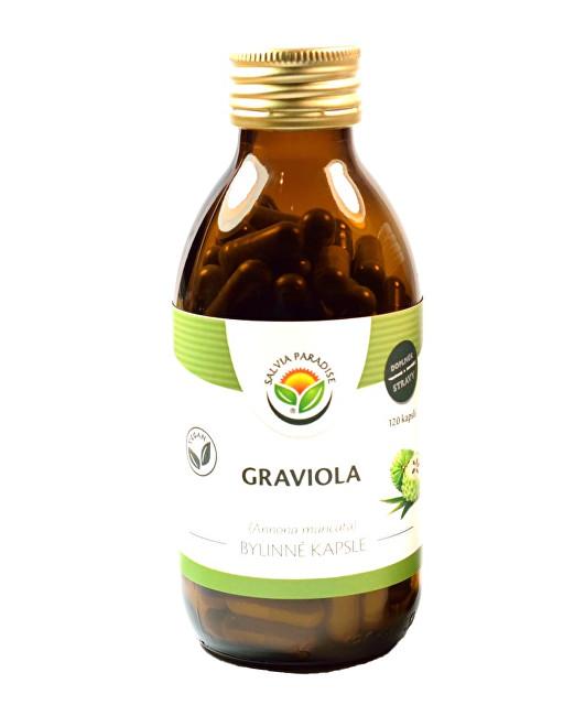 Zobrazit detail výrobku Salvia Paradise Graviola - Annona kapsle 120 ks