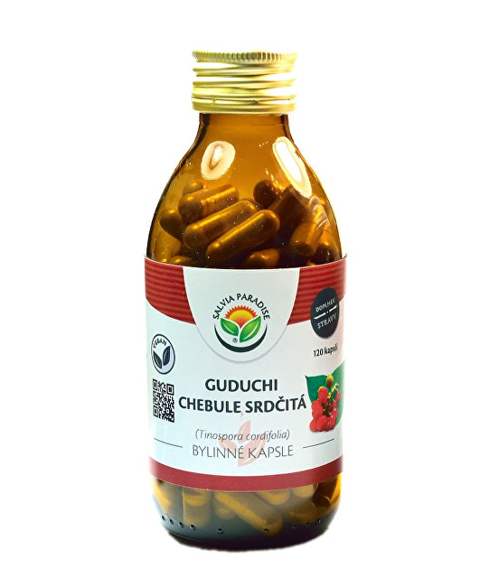 Zobrazit detail výrobku Salvia Paradise Guduchi - Chebule srdčitá kapsle 120 ks
