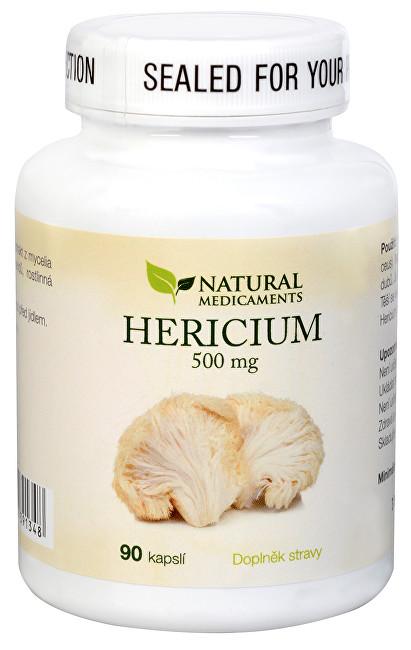 Zobrazit detail výrobku Natural Medicaments Hericium 500 mg 90 kapslí