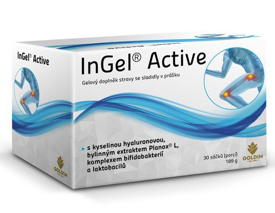 Zobrazit detail výrobku Goldim InGel Active 30 sáčků