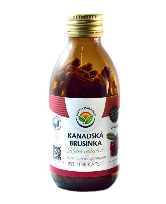 Zobrazit detail výrobku Salvia Paradise Kanadská brusinka mrazem sušená kapsle 120 ks