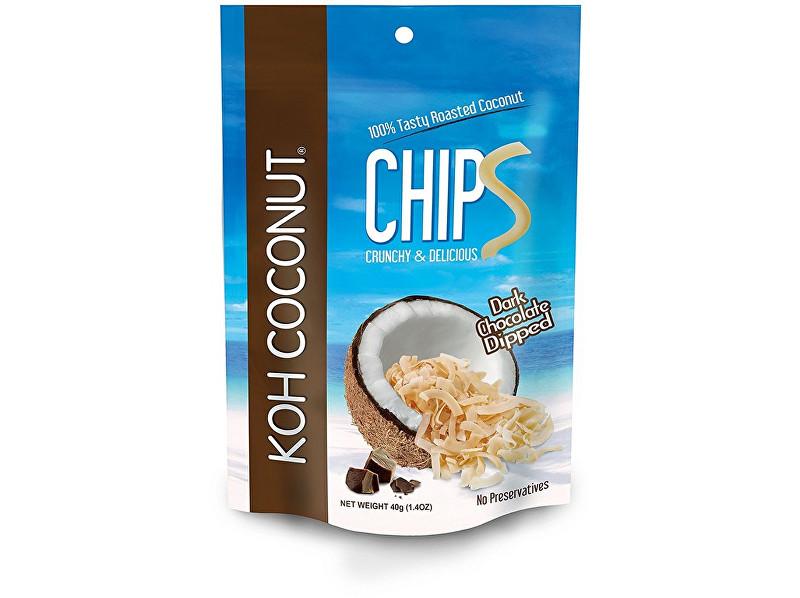 KOH COCONUT Kokosové chipsy čokoládové 40g