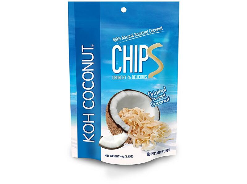 Zobrazit detail výrobku KOH COCONUT Kokosové chipsy originál 40g