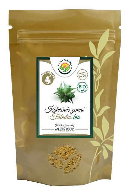 Salvia Paradise Kotvičník - Tribulus plod prášek BIO 100g