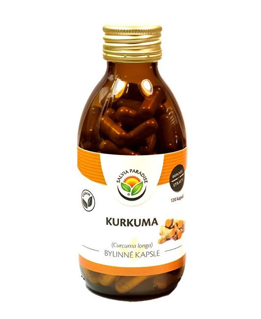 Zobrazit detail výrobku Salvia Paradise Kurkuma kapsle 120 ks