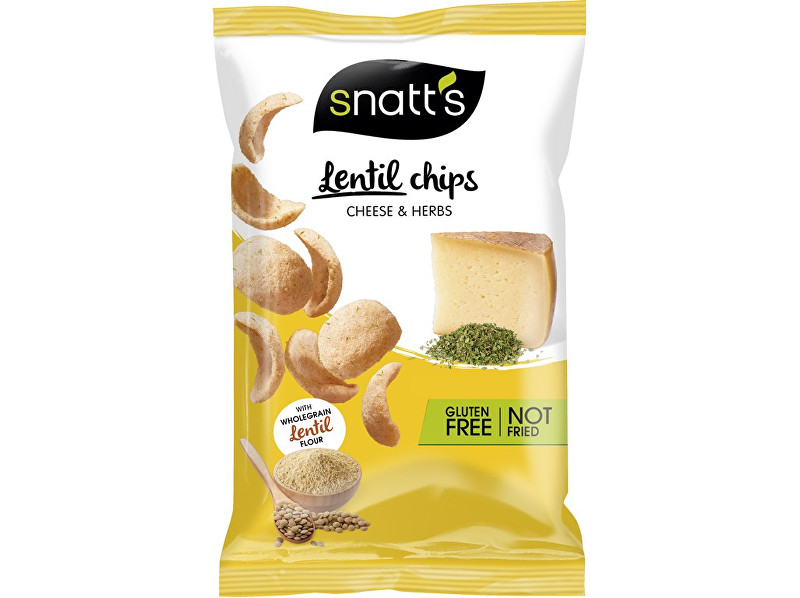 Zobrazit detail výrobku Snatt´s Lentil chips sýr, bylinky 85g