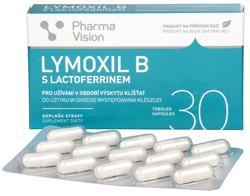 Zobrazit detail výrobku Pharma Vision Lymoxil B s lactoferrinem 30 tobolek