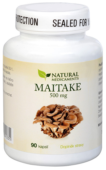 Natural Medicaments Maitake 500 mg 90 kapslí
