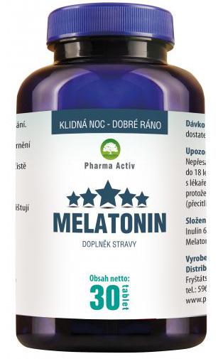 Zobrazit detail výrobku Pharma Activ Melatonin 30 tablet