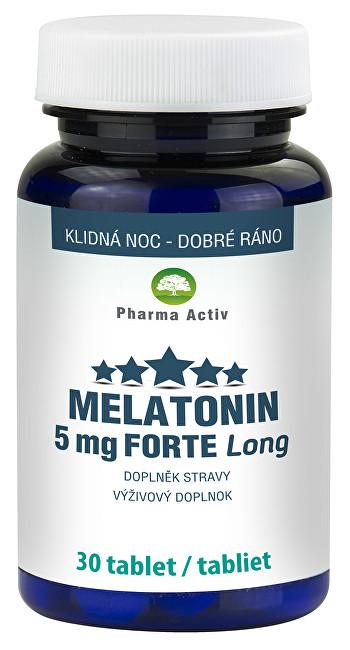 Zobrazit detail výrobku Pharma Activ Melatonin 5mg FORTE 30 tablet