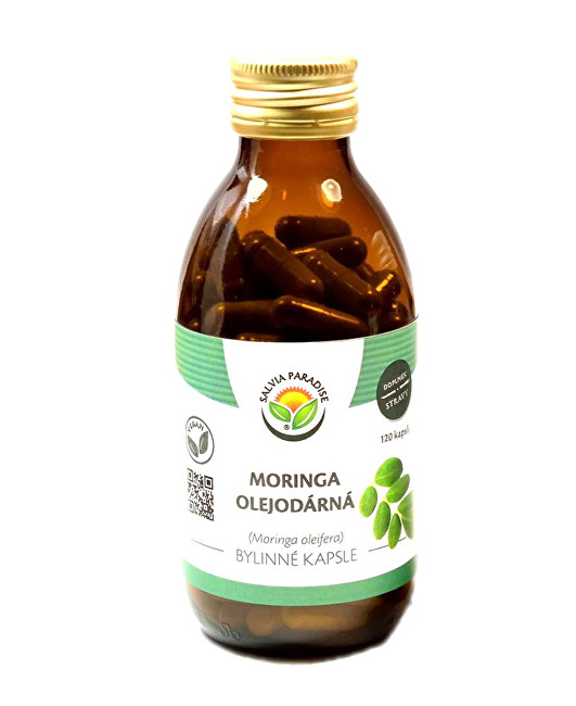 Zobrazit detail výrobku Salvia Paradise Moringa olejodárná kapsle 120 ks