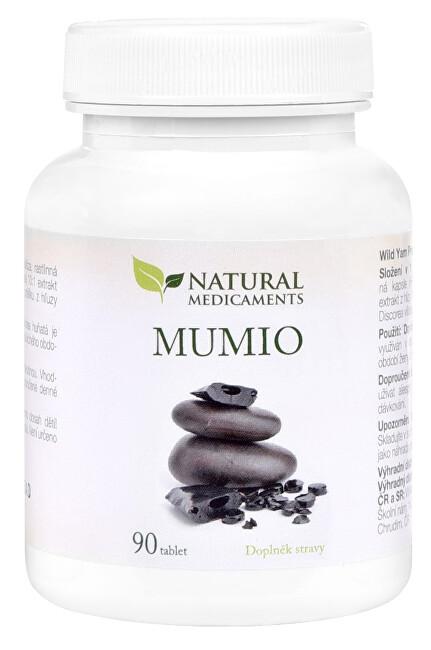 Zobrazit detail výrobku Natural Medicaments Mumio 250 mg 90 tablet