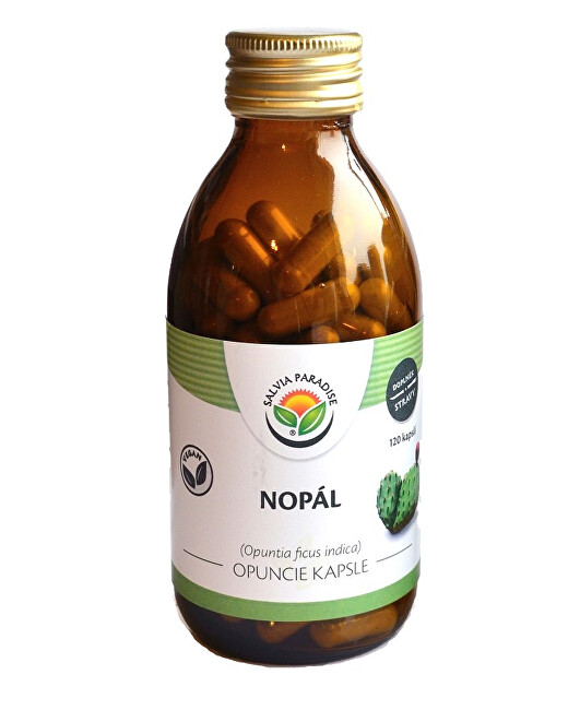 Zobrazit detail výrobku Salvia Paradise Nopál - Opuncie kapsle 120 ks