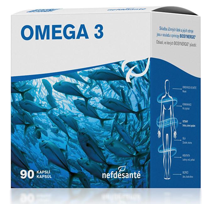 Nef de Santé Omega 3 90 kapslí