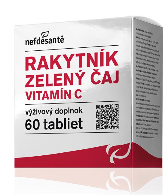 Zobrazit detail výrobku NefdeSanté Rakytník zelený čaj vitamín C 60 tablet