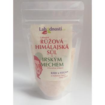 Růžová himalájská sůl s irským mechem 200 g