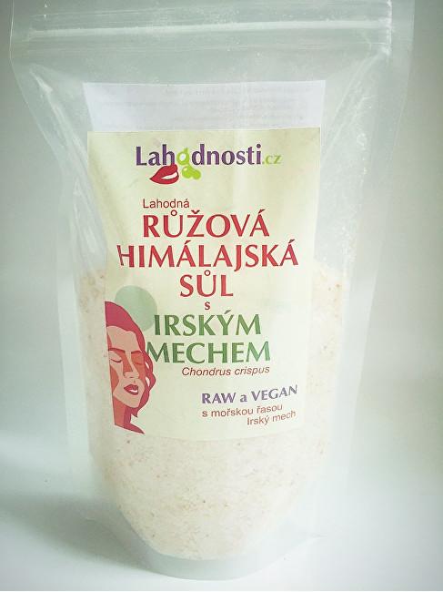 Zobrazit detail výrobku Lahodnosti Růžová himalájská sůl s irským mechem 400 g