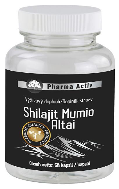 Zobrazit detail výrobku Pharma Activ Shilajit Mumio Altai 60 kapslí