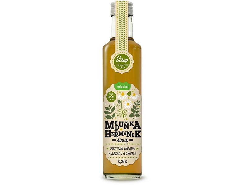Zobrazit detail výrobku Koldokol Sirup meduňka a heřmánek 0,33 l