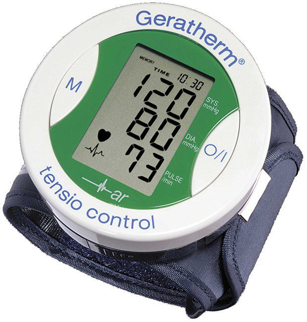 Zobrazit detail výrobku Geratherm Tonometr digitální automatický TENSIO CONTROL zápěstní