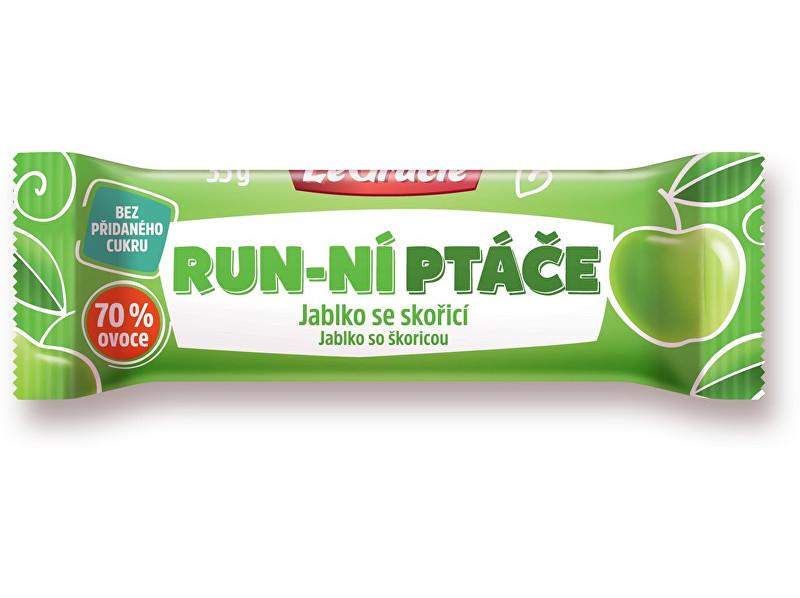 Zobrazit detail výrobku LeGracie Tyčinka Run-ní ptáče jablko se skořicí 35g
