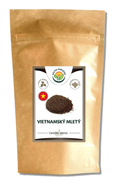 Zobrazit detail výrobku Salvia Paradise Vietnamský černý mletý čaj 400 g