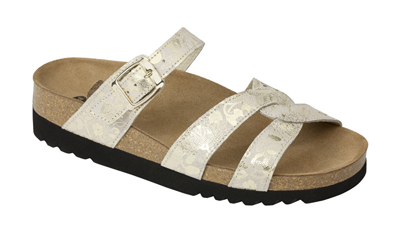 Scholl Zdravotní obuv CAMBERRA - platinum 39 132419b241