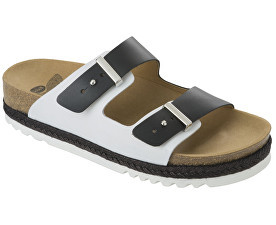 Zobrazit detail výrobku Scholl Zdravotní obuv RIO WEDGE AD - černá/bílá vel. 40