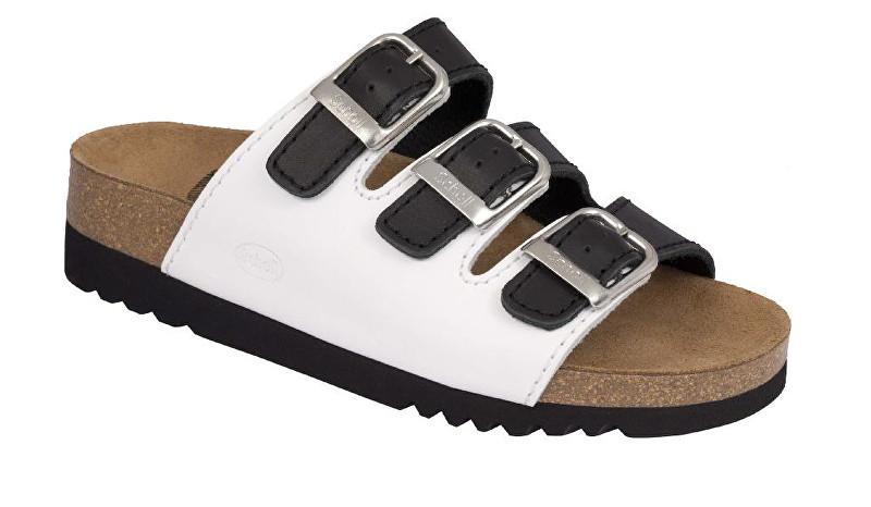 e119bc2caf Scholl Zdravotní obuv RIO WEDGE AD - černá bílá 40