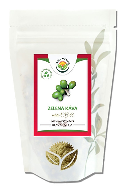 Zobrazit detail výrobku Salvia Paradise Zelená káva mletá CGA 400 g