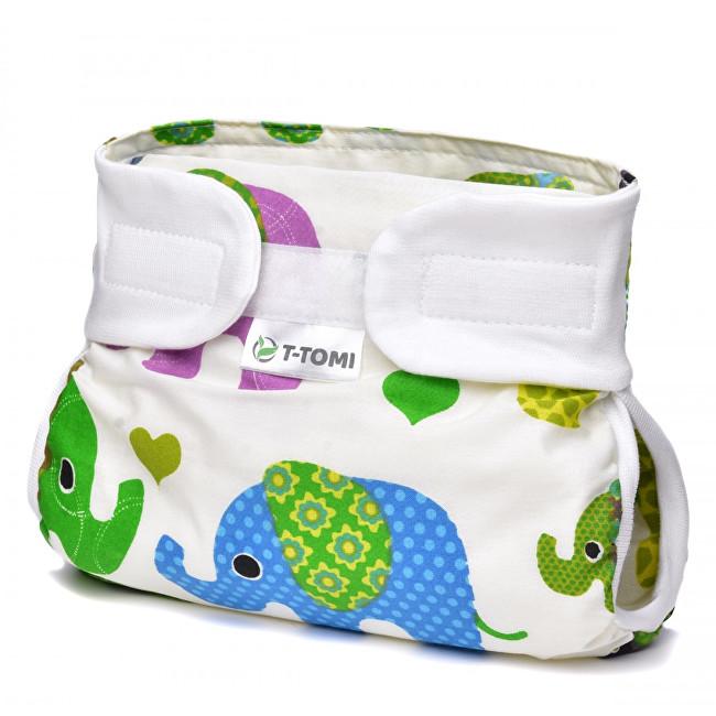Zobrazit detail výrobku T-tomi Abdukční kalhotky (3 - 6 kg) Barevní sloni