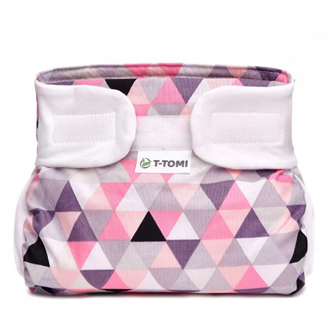 Zobrazit detail výrobku T-tomi Abdukční kalhotky (3 - 6 kg) Růžové trojúhelníky