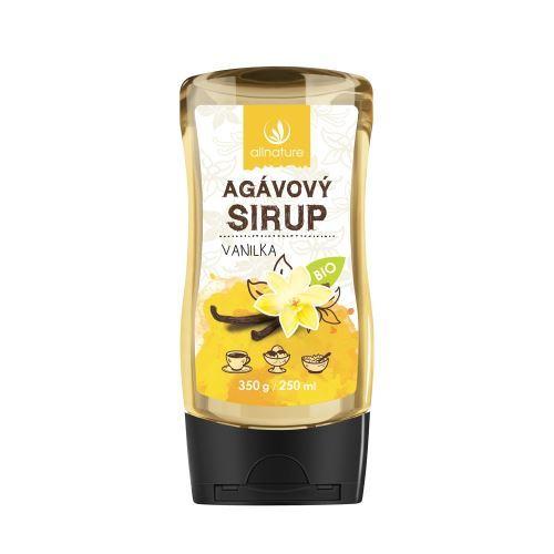 Zobrazit detail výrobku Allnature Agávový sirup BIO 250 ml Vanilka