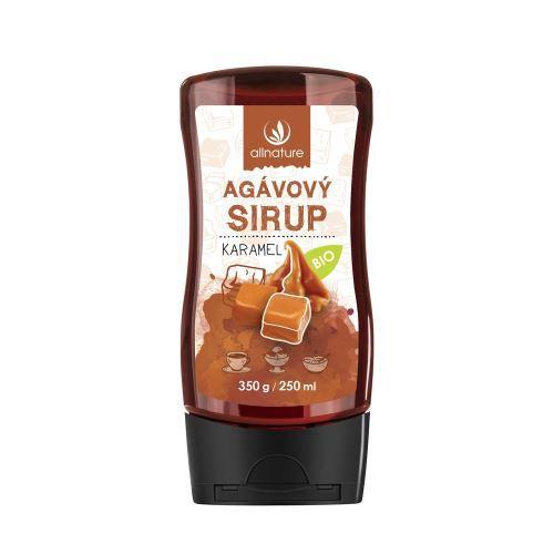 Zobrazit detail výrobku Allnature Agávový sirup BIO 250 ml Karamel