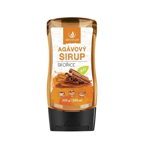 Zobrazit detail výrobku Allnature Agávový sirup BIO 250 ml Skořice
