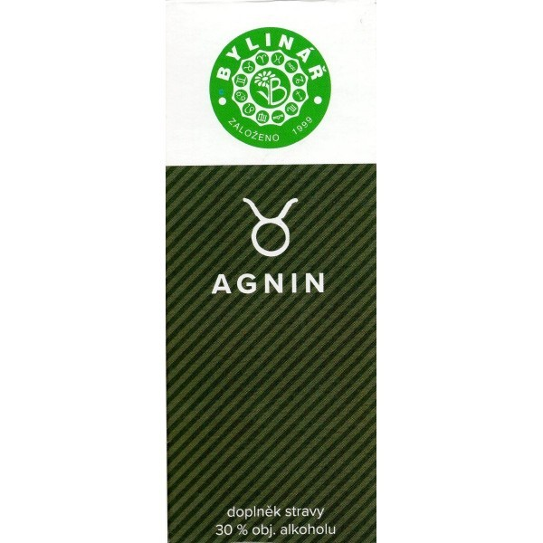 Zobrazit detail výrobku Bylinář Agnin 50 ml