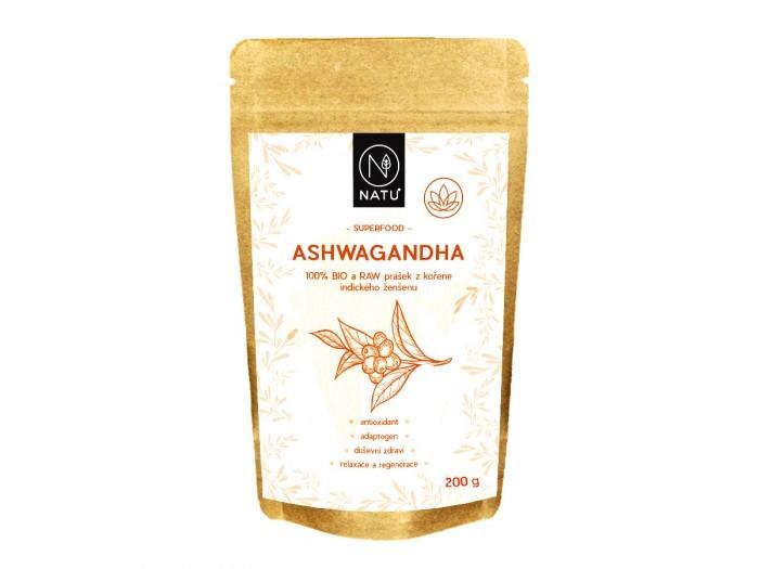 Ashwagandha BIO prášek 200 g