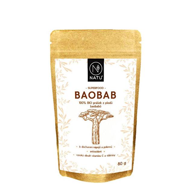 Zobrazit detail výrobku Natu Baobab BIO prášek 80 g