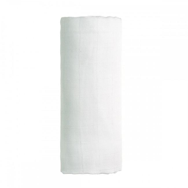 T-tomi BIO Bambusová osuška 90 x 100 cm White / bílá