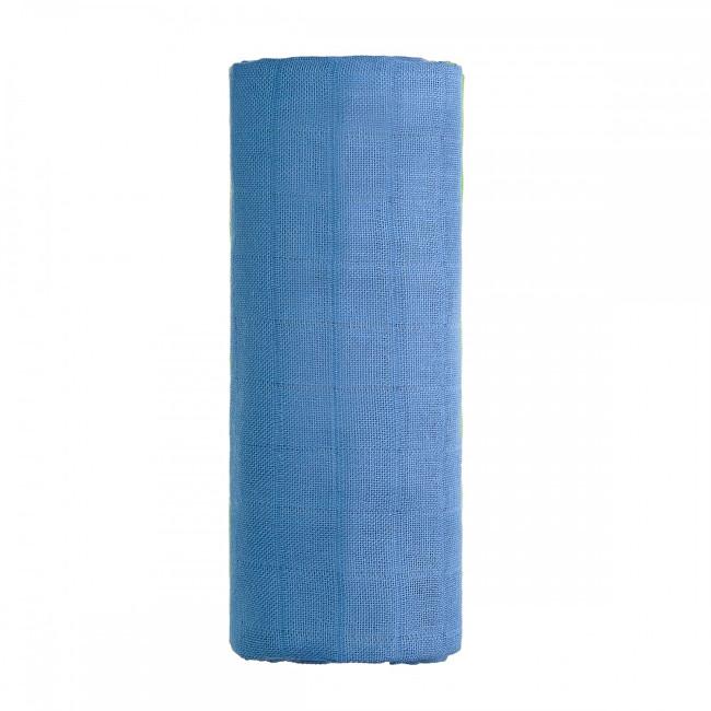 Zobrazit detail výrobku T-tomi BIO Bambusová osuška 90 x 100 cm Blue / modrá