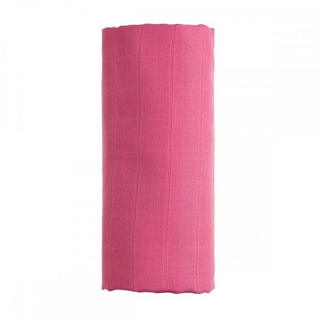 Zobrazit detail výrobku T-tomi BIO Bambusová osuška 90 x 100 cm Pink / růžová